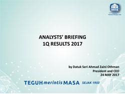 1Q17 Analysts Briefing